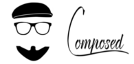 Composed Beard and Hat Logo